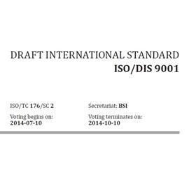 borrador de ISO 9001:2015