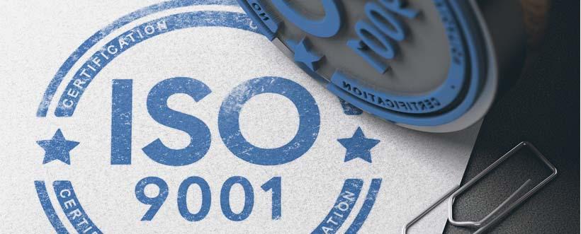 Certificación en ISO 9001